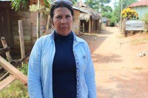 Deyanira Pulido Camacho, líder de la comunidad y Representante Legal de la Corporación Corazones Verdes