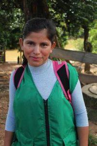 Sandra Patricia Márquez, Representante Legal de la Asociación de Productores de Cuturú (Asocuturu) Deyanira