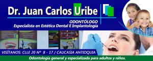 Dr. Juan Carlos Uribe - Odontólogo