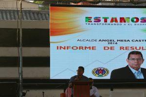 Angel Mesa Castro Rendición de Cuentas