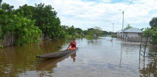 Corregimiento de Palomar, perteneciente a Caucasia, completa 5 días inundado y sin energía eléctrica