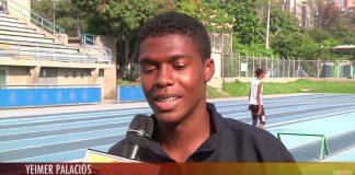 Yeimer Palacios Atlete del El Bagre Antioquia