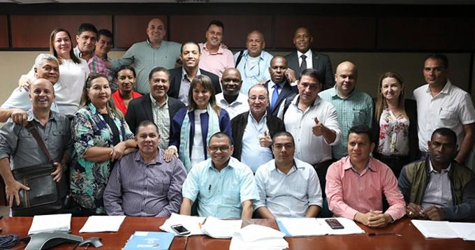 Tres Municipios del Bajo Cauca firman convenio para infraestructura social con el DPS