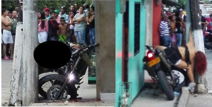 Accidente en Montelíbano, deja un hombre herido y una mujer muerta