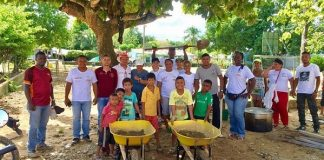 En 3 barrios de El Bagre realizan Convites Ciudadanos Participativos