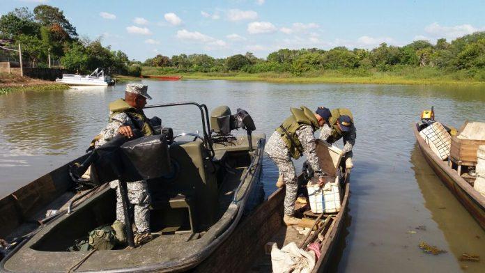Armada Nacional incauta carne de Chigüiro en Ayapel, Córdoba