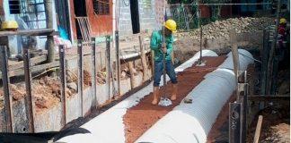 Inicia la última fase de construcción de Boxcoulvert en el Barrio San Miguel