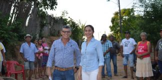 Alcaldesa de la Apartada Socializó la pavimentación de varias calles del municipio