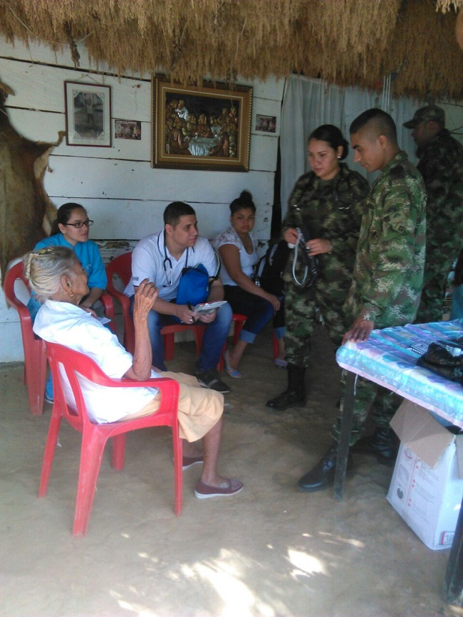 Foto: Comunicaciones Batallón Rifles de Cáceres