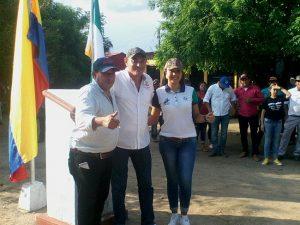 Alcalde de Caucasia, Óscar Suárez y alcalde Villa de San Benito de Abad, Agustín Villarreal.