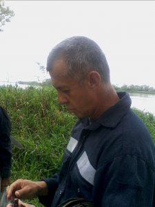 Biólogo Nelson Gil. Foto: Evaristo Pérez