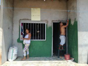 """Habitantes del Barrio Pensilvania fueron beneficiarios de """"Antioquia Pinta Grande"""". Foto: Eliana Hern'andez"""