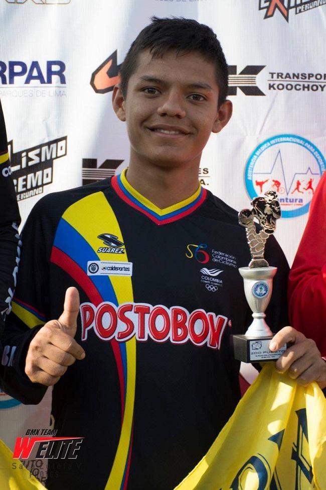 Jefferson Madrid Almanza, consiguió el segundo lugar en competencias en Perú