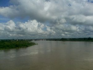 Río Cauca en el Municipio de Caucasia, Foto: Evaristo pérez.