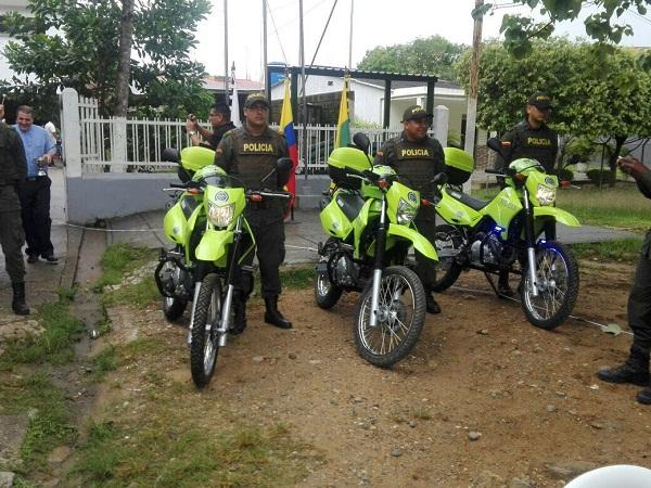 motocicletas para la Policía Nacional