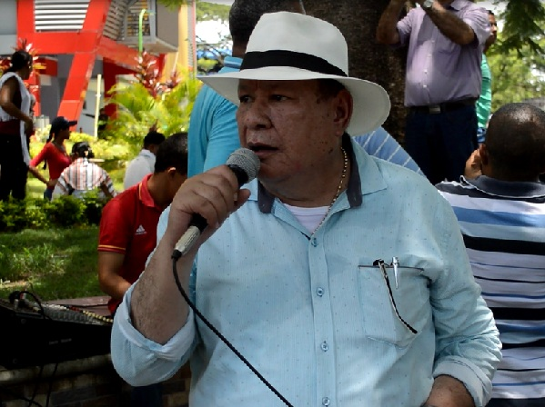 Presidente de Asomineros del Bajo Cauca, Ramiro Restrepo.